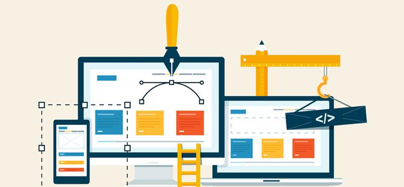 Crie um site e atualize-o sempre
